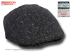 Flat cap Curragh Irish tweed gray