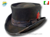 Western Desert Rat Top Hat Dusty