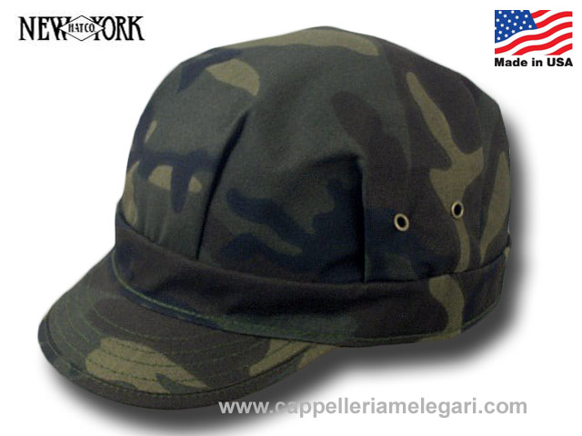 New York Hat Co. Cappello Engineer Camo Cap Ma