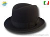 Homburg Godfather hat brown