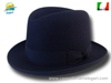 Homburg Godfather hat marine blue