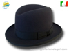 Homburg Godfather hat dark grey