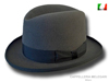 Homburg Godfather hat medium gray