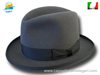 Homburg Godfather two pinch crown hat