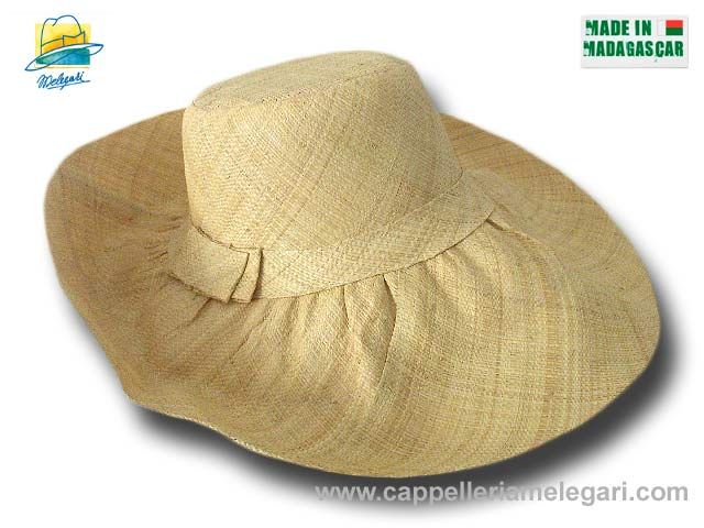 fold straw hat brim large Antibes 10