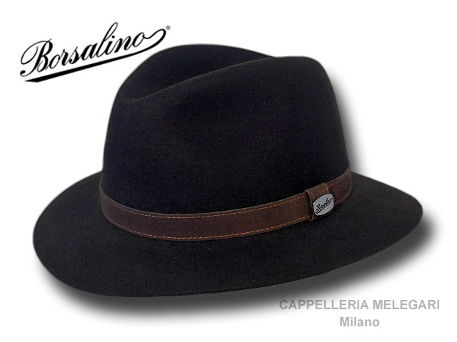 Borsalino Cappello Alessandria Safari Country Nero