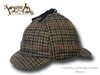 Berretto irlandese Sherlock Holmes Hanna Hats donegal tweed