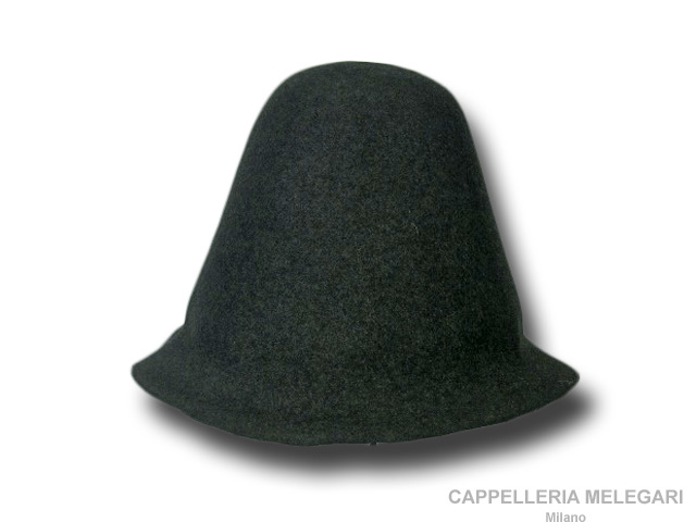 Hat body cone wool felt 120 gr.