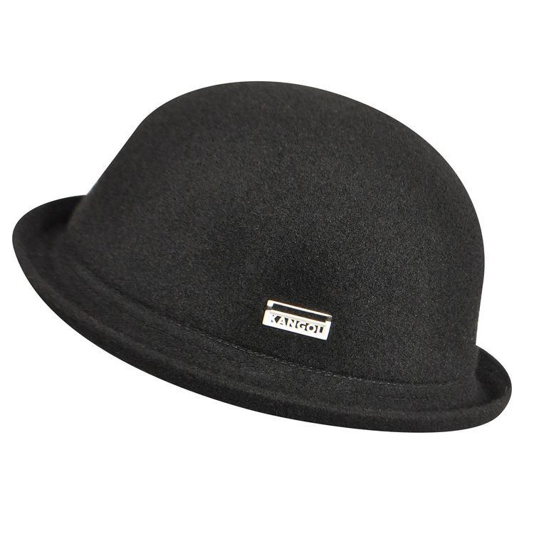 Kangol Cappello bombetta Wool Bombin hat Nero a6f0341b2b80
