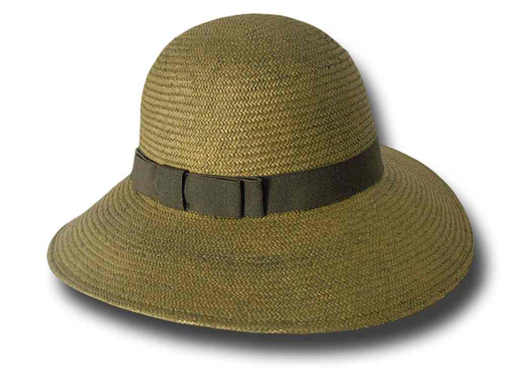 Melegari summer women Hat Natalie Dark green