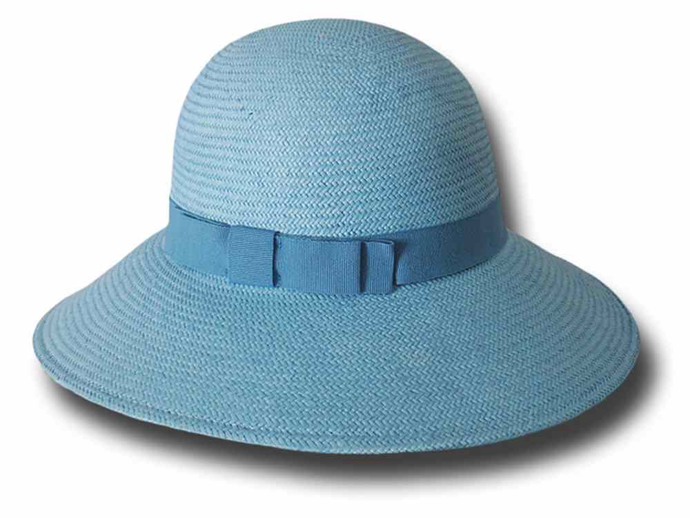 Melegari summer Women Hat Natalie Light blue