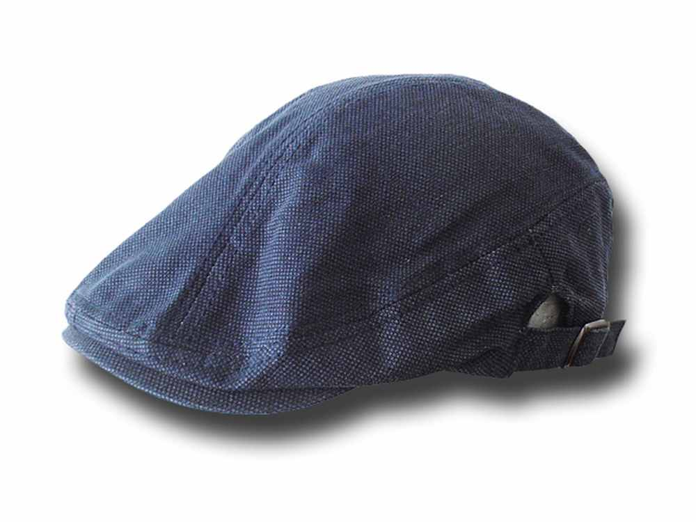 Flat cap summer cotton Clarence Blue