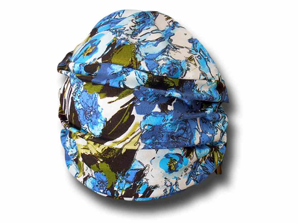 Melegari Cappello turbante donna estivo in vis