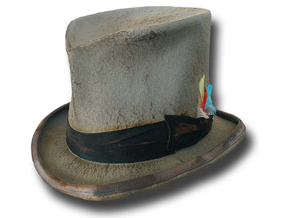 Dandy Western Aged top hat extra quality