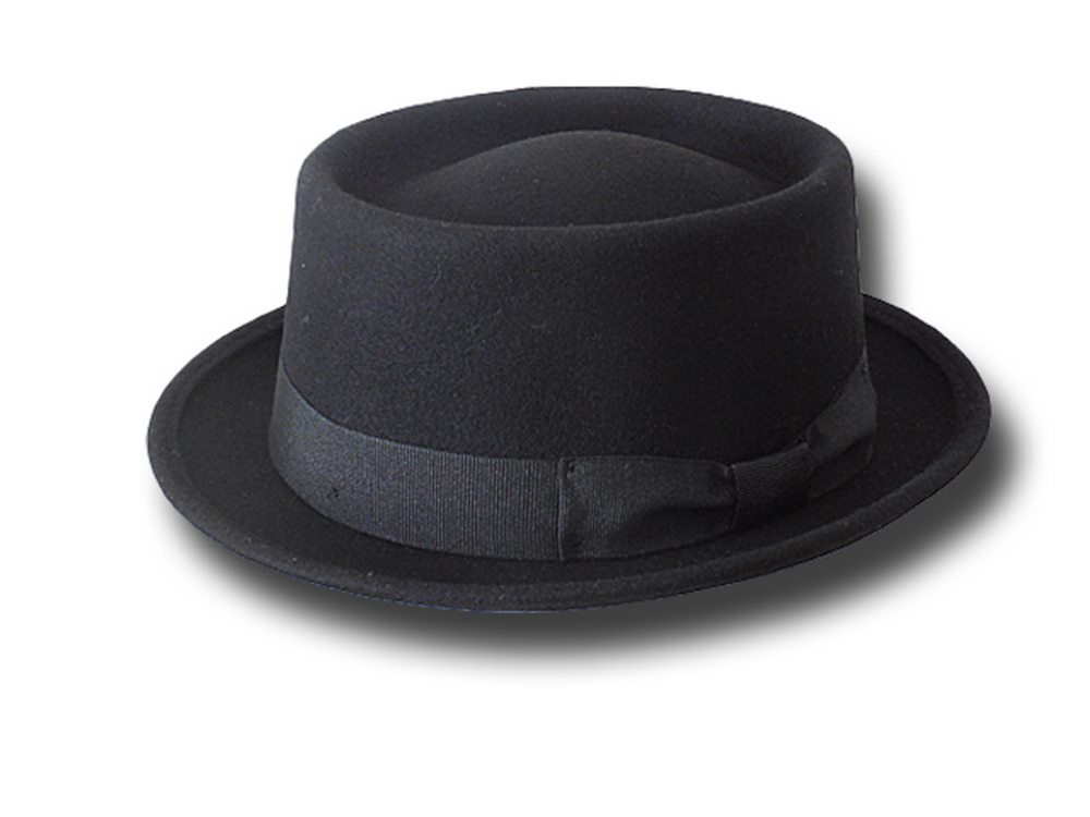 Melegari Pork Pie Hat Festival Black