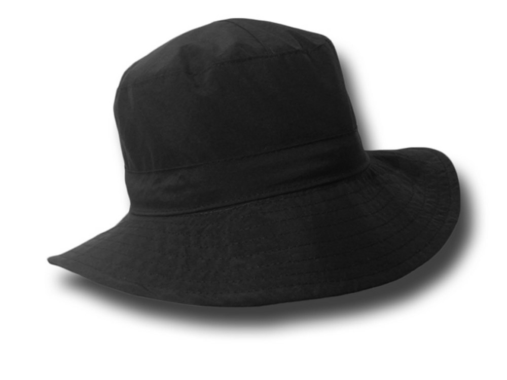 Hat woman waterproof pocket Rain a wide brim 4