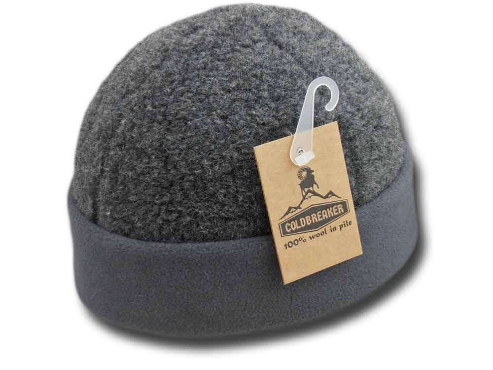 f8aef9c9f13 Berretto zuccotto lana risvolto in pile