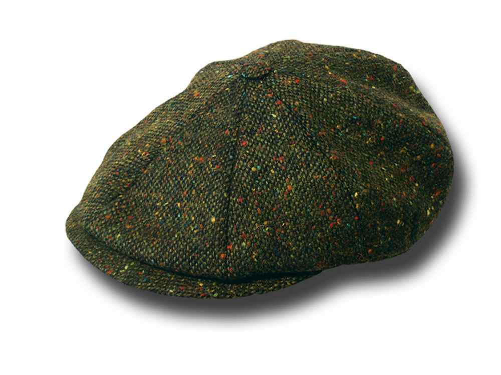 8 pcs Gatsby Tweed cap John Hanly
