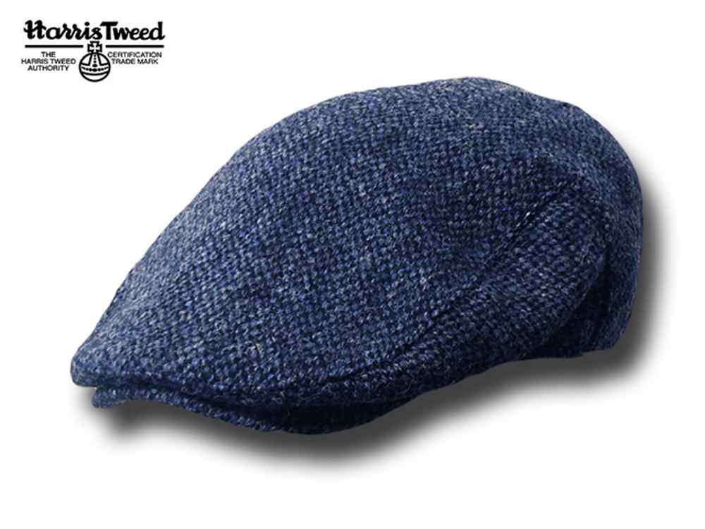 Beret Highlands Harris Tweed Flat Cap