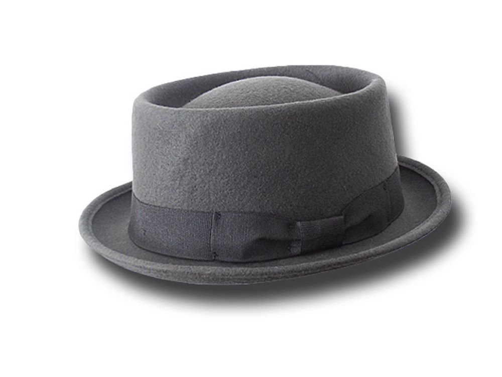 Melegari Pork Pie Hat Festival Dark gray