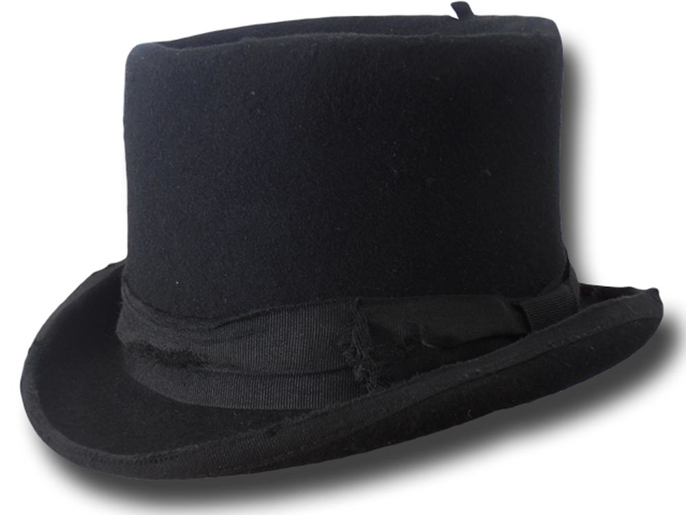 Top Hat Wool Stone Hat