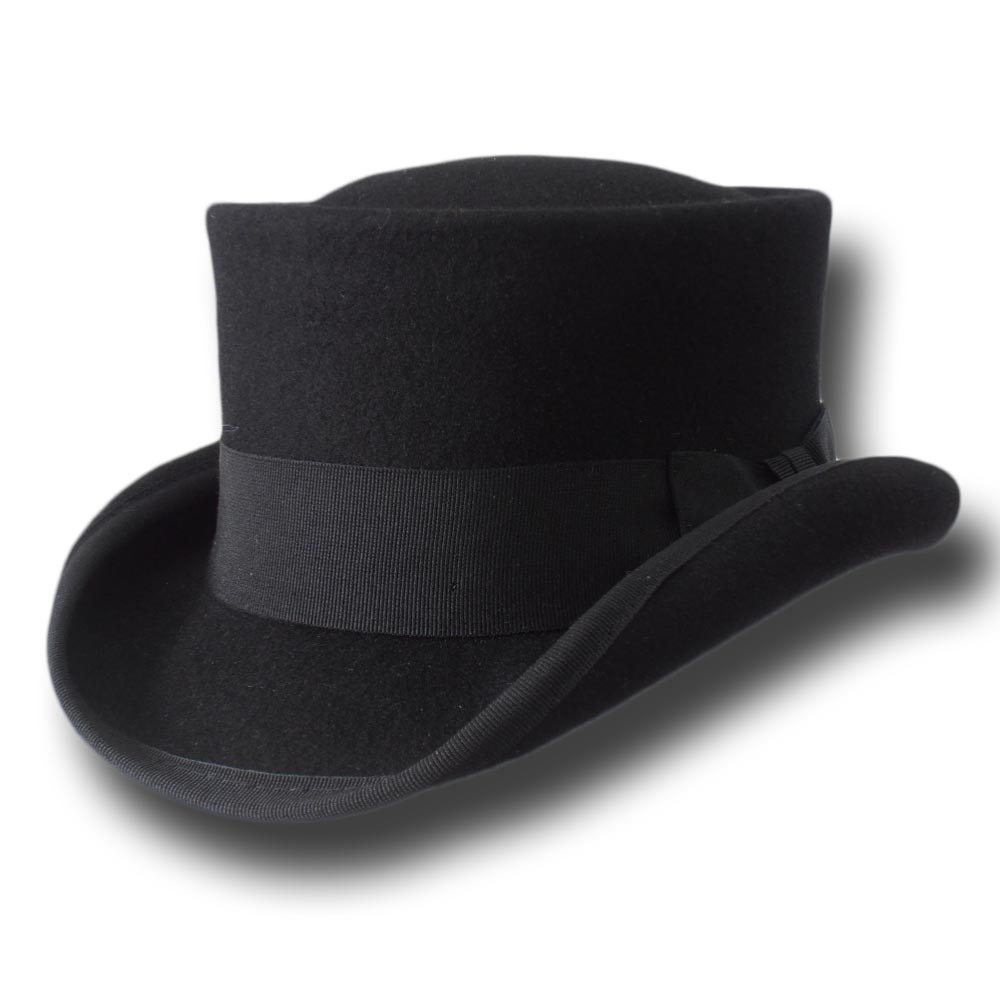 Western Desert Rat Top Hat curved