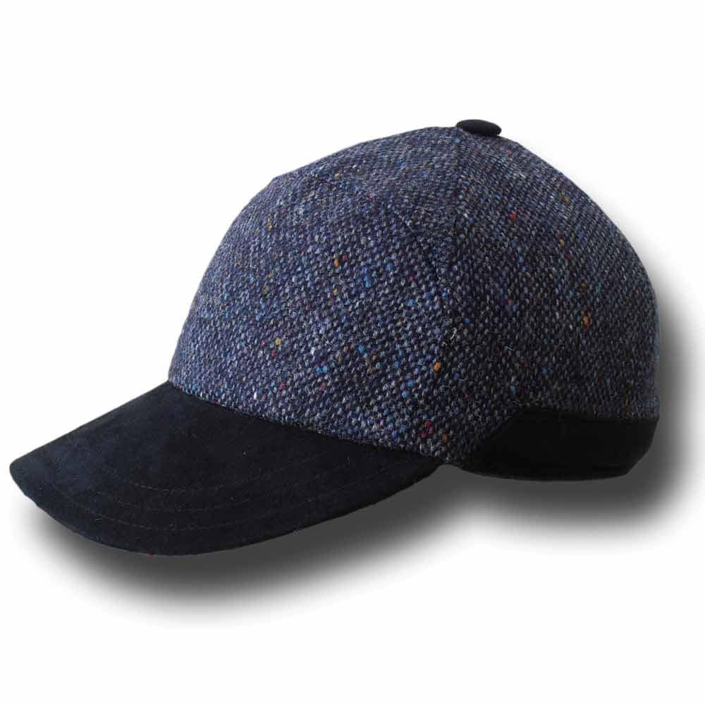 37ad21f6adc Melegari Baseball wool cap with earmuffs Jad B