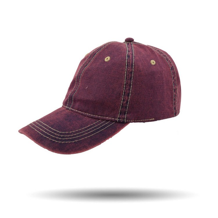 Melegari Stonewashed cotton baseball cap Many