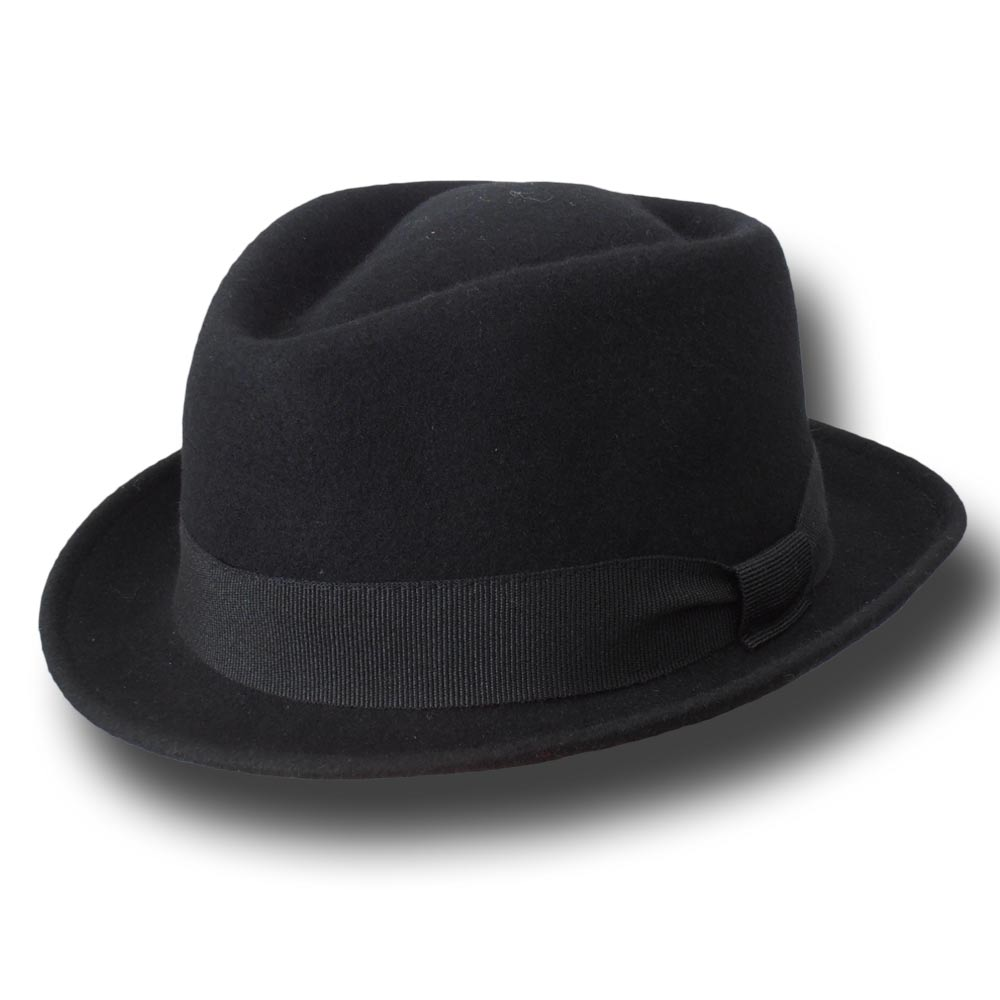 Melegari Jazz Pork Pie wool hat Charles