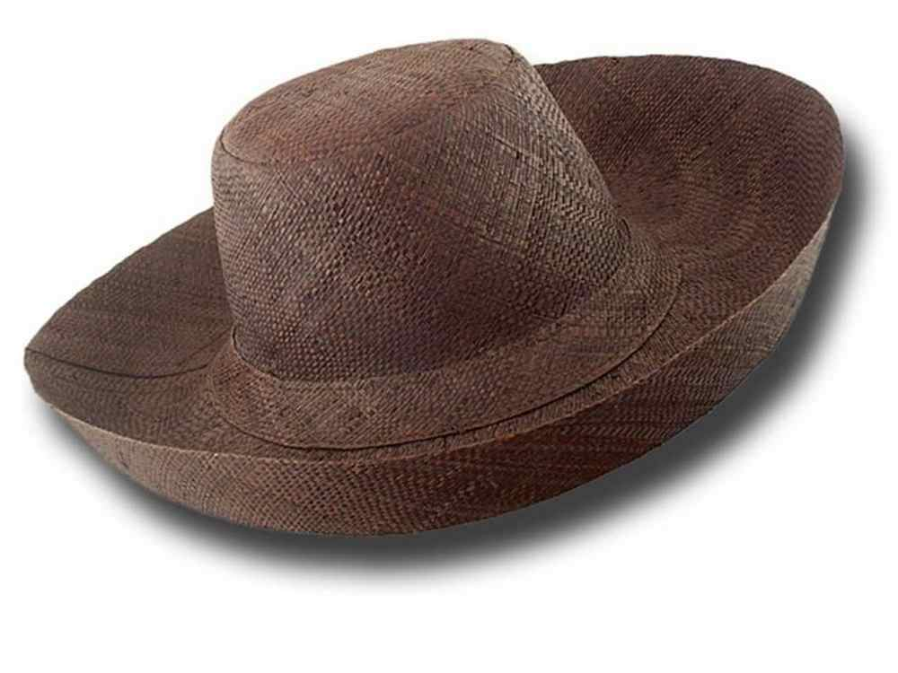 fold straw hat brim large Antibes 01