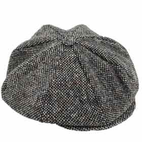 Hanna Hats Gatsby tweed Cap 8 pieces