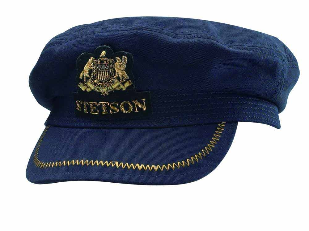 Stetson Allenport Fisherman cotton Hat blue