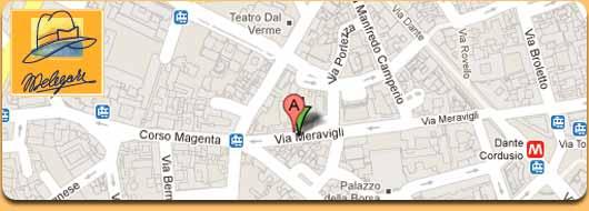 Cappelleria Melegari Via Meravigli 16, 20123 Milano