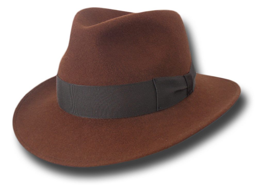 Melegari Cappello fedora Indiana Jones