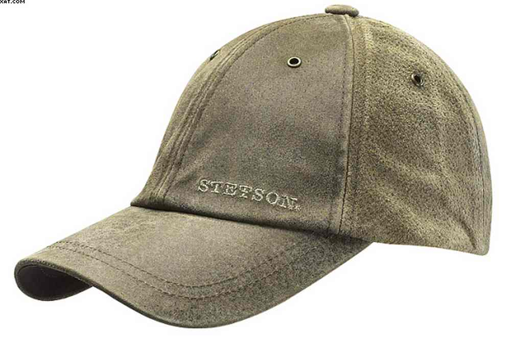 Ikpek leather baseball cap Stetson
