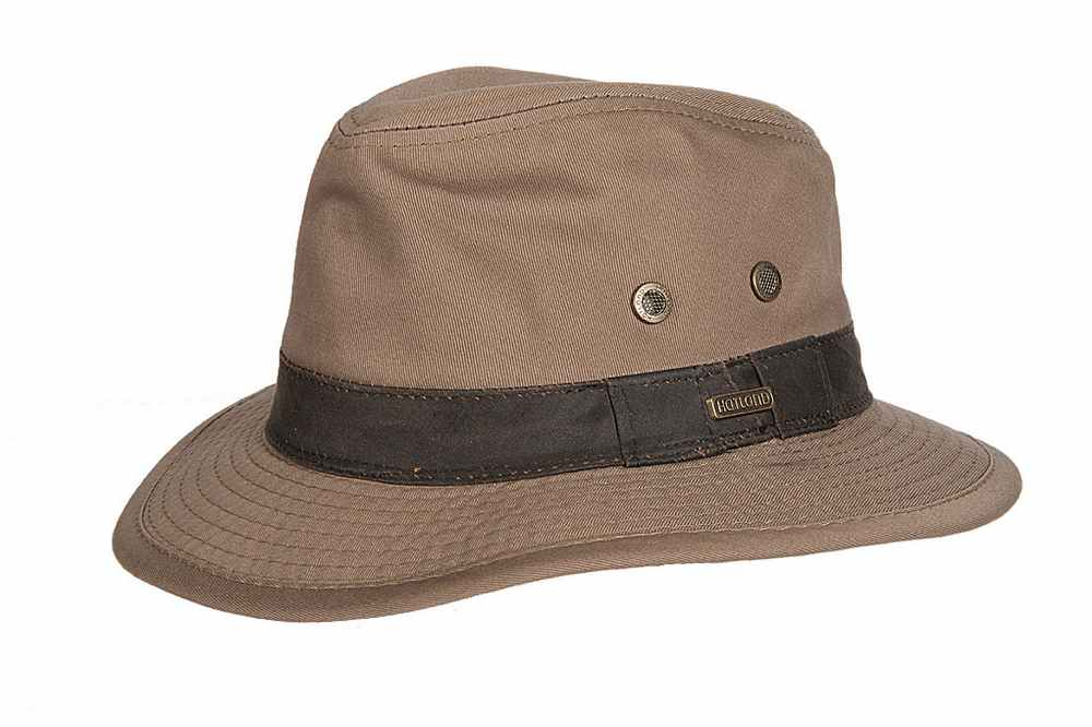 Hatland Cappello Okaton Cotton hat Marrone