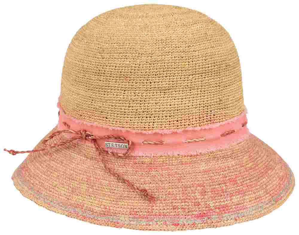 1f0259829e8 Stetson Summer woman crochet straw hat