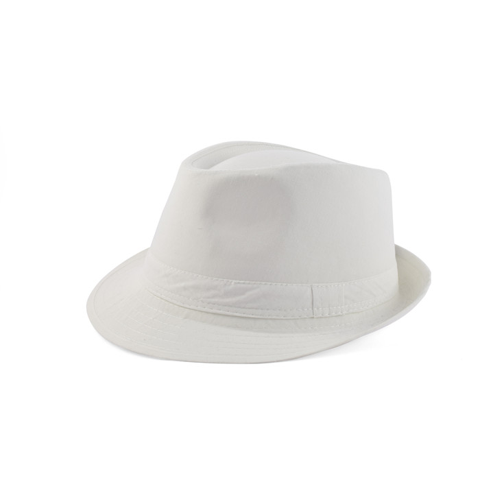 Trilby hat in cotton 2