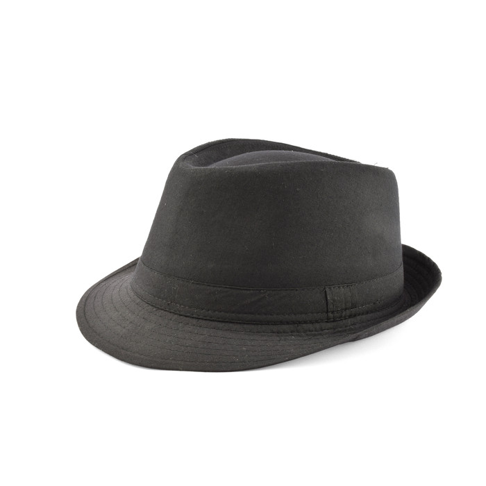 Trilby hat in cotton 1