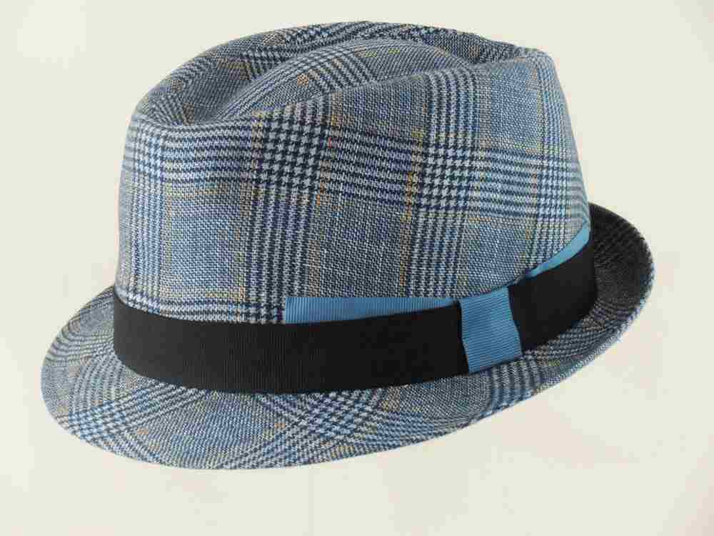 Summer Trilby hat linen-cotton Stanley