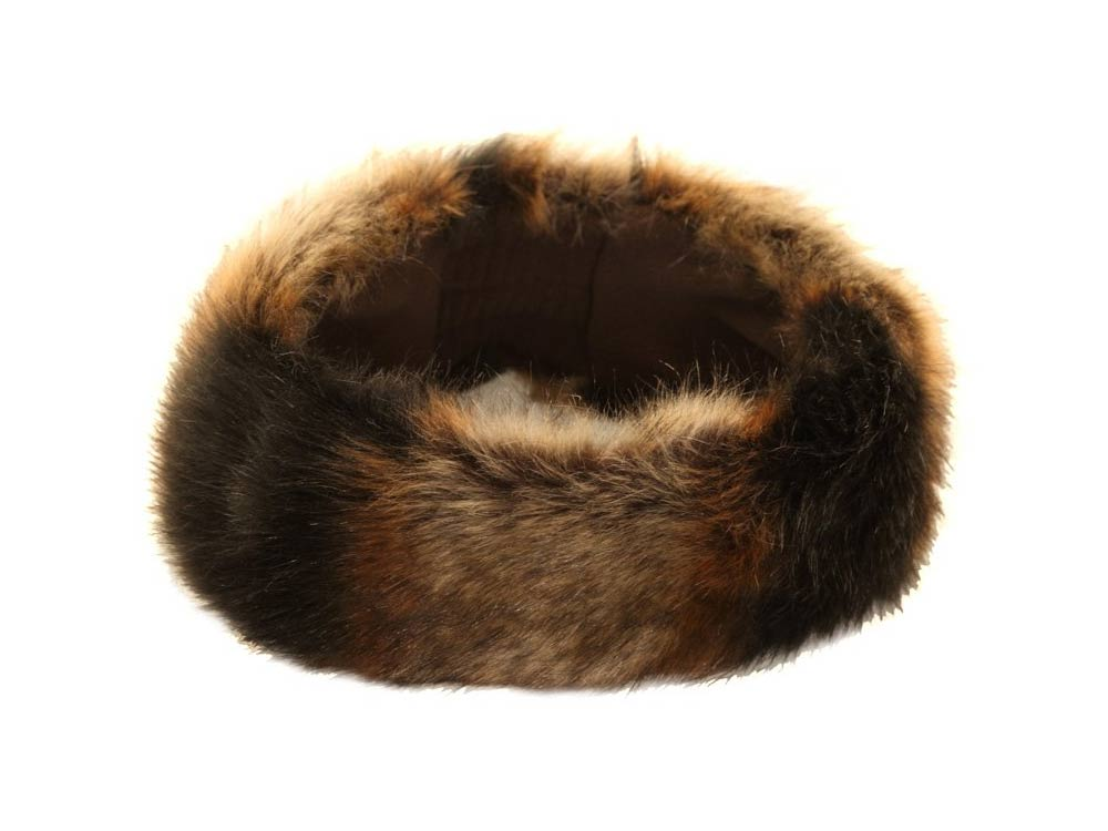 Hawkins Headband ear warmers faux fur Savana