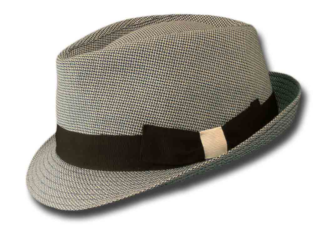 Melegari lin and cotton Trilby hat Sam