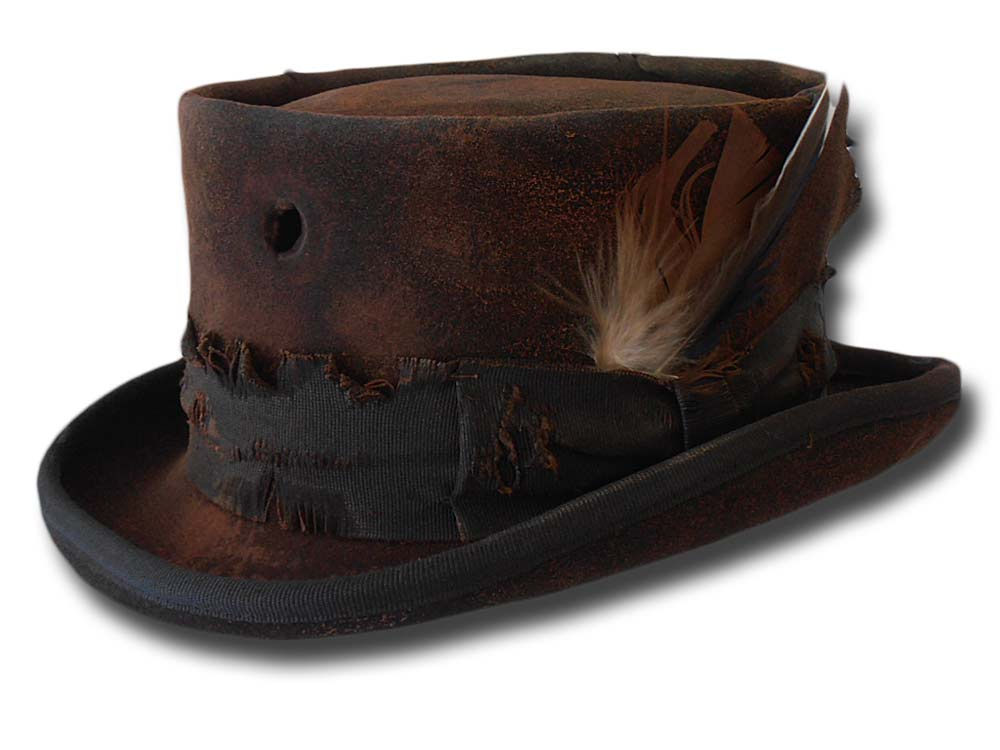 Western Desert Rat Top Hat Desperado  Dusty
