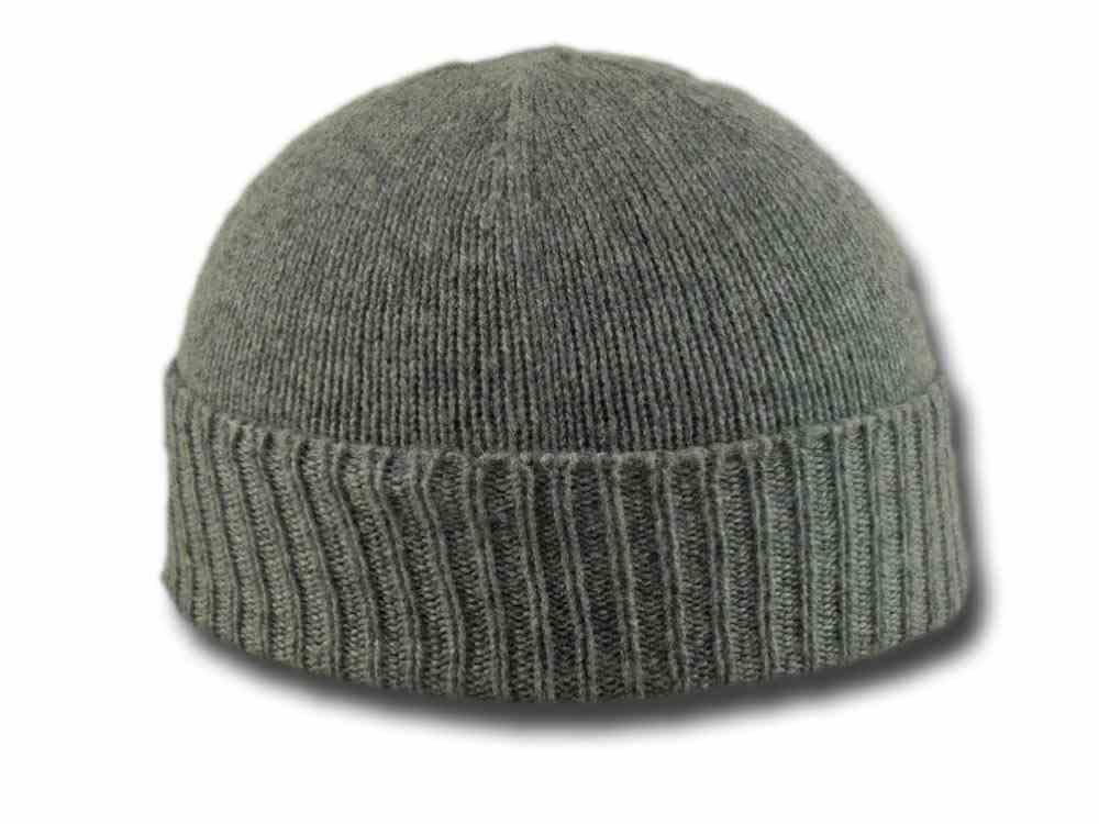 Melegari Cappello cuffia beanie puro cashmere 4a07dfbf55ca