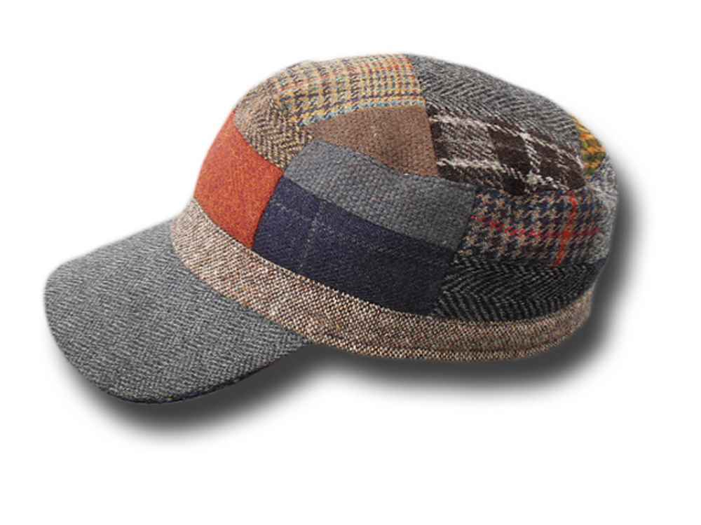 Patchwork skipper wool Cap Hanna Hats
