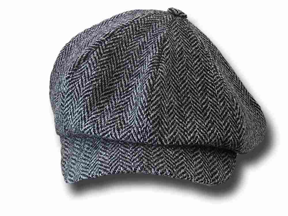 Berretto irlandese lana Newsboy Depp Hanna Hats Harris tweed