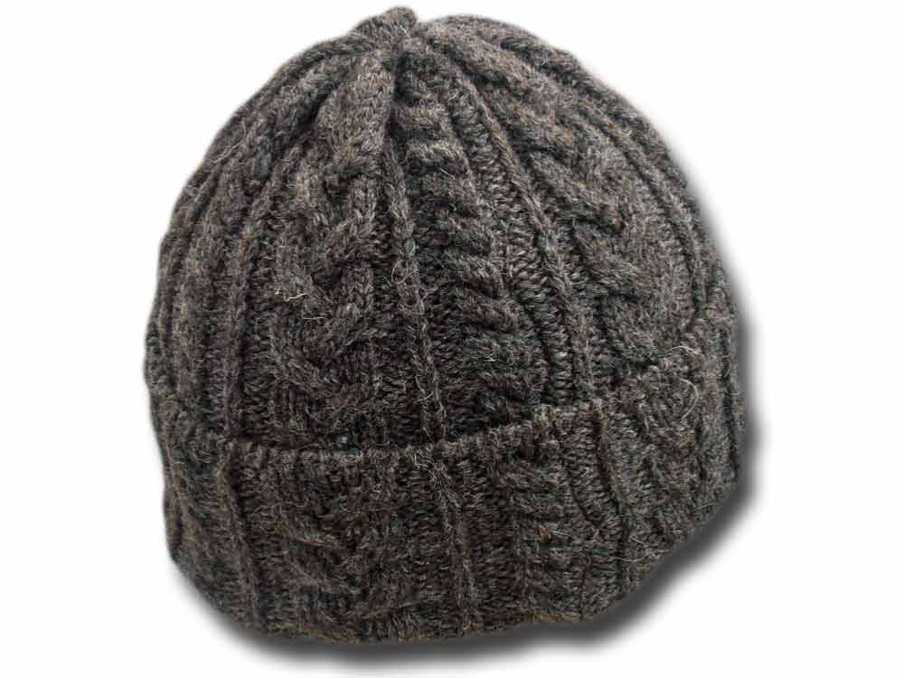 Unisex organic Jacob wool hat