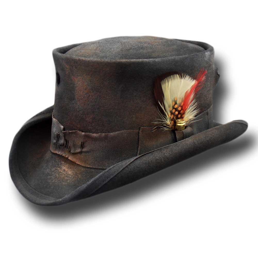 Western Desert Rat Top Hat Desperado Bullet