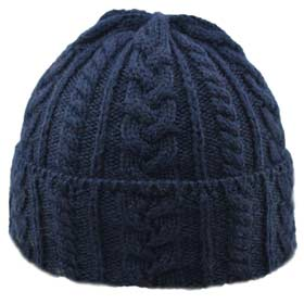 Kerry Woolen Mills Cuffia unisex lana Jacob co
