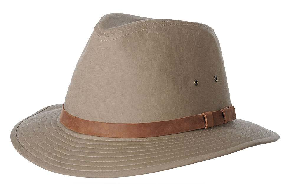 Hatland Mitch Poplin Cotton hat